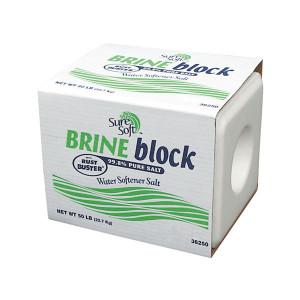 Water Conditioning salt Brine Block with rust inhibitor
