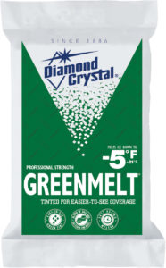 Greenmelt blended ice melt