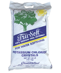 Potassium Chloride salt substitue for water softeners