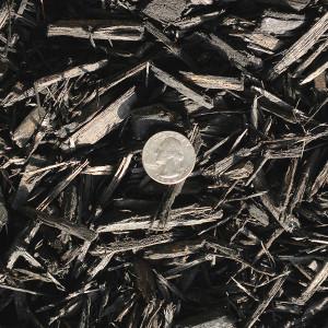 Black bulk mulch