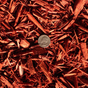 Red Dyed Bulk Mulch