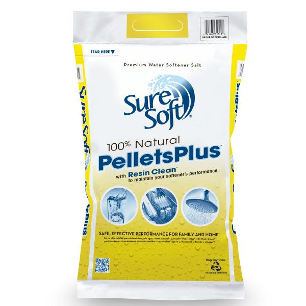 Sure Soft water conditioning salt pellets