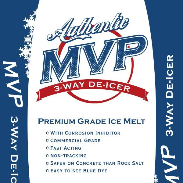MVP Blue ice melt