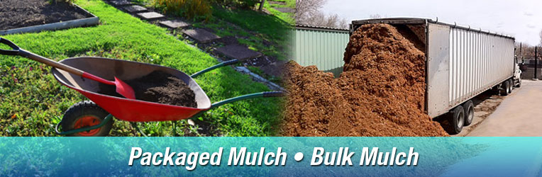 Bulk and packaged mulch delivery