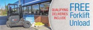 Retail reseller Free forklift unload