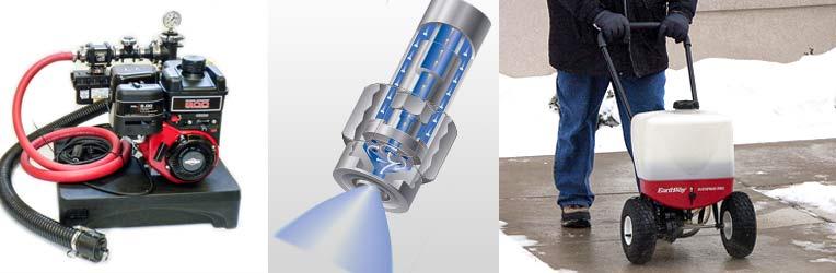 Liquid Ice Melt Sprayers