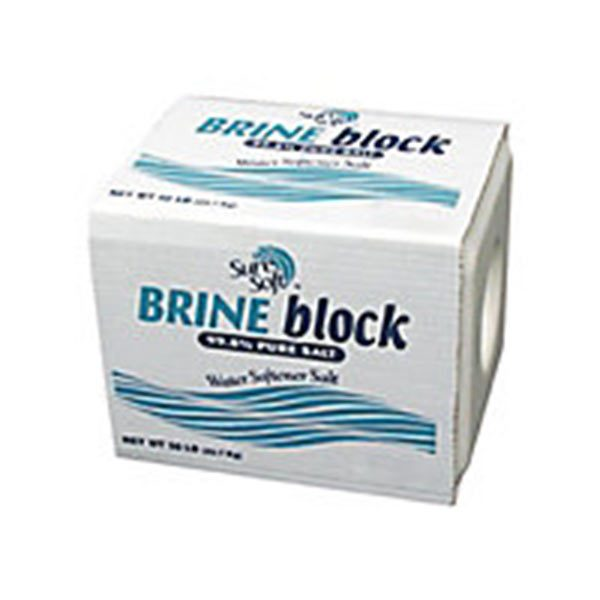 Water Conditioning salt Brine Block